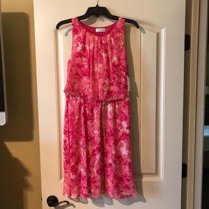 Calvin Klein summer pink dress